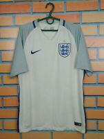England Jersey 2017 2018 Home MEDIUM Shirt Nike Soccer Football 724610-100
