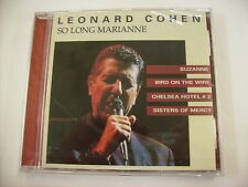 LEONARD COHEN - SO LONG MARIANNE - CD SIGILLATO 1999