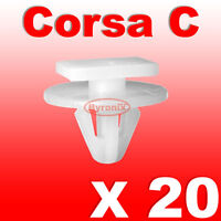 VAUXHALL CORSA C WHEEL ARCH TRIM CLIPS PLASTIC EXTERIOR WING FRONT & COMBO