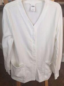 Women's Meta Knit Consultation Jacket w/cuff Buy 1 Get 1 Free Price: 13.00 XS-L