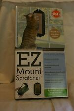 NEW K&H Products EZ Mount Scratch Pad for Cats/Suction Cup Frame/Catnip Included