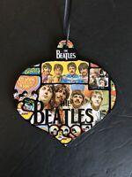 Beatles memorabilia Christmas Ornaments/rock and roll Gift/handmade gift/fab 4