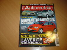 L'automobile N°702 BMW M5 SMG.Ferrari F430 F1.Ford Mustang GT 2005.