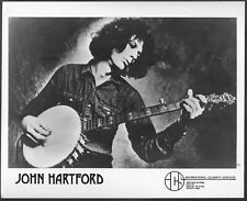 ~ John Hartford Original  Agency Promo Photo Country Fiddle Folk Bluegrass