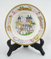 Halcyon Days Porcelain Nursery Ware Animal Menagerie Child's Bowl - Mint in Box
