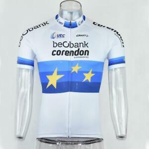 Beobank Corendon cycling Short Sleeve Jersey mens Cycling Jersey