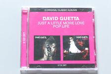 Just A Little More Love / Pop Life (2007) David Guetta (5099909547926) CD Mint