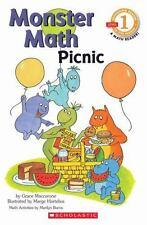 Scholastic Reader Level 1: Monster Math Picnic (Paperback or Softback)