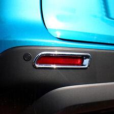 Chrome Rear Tail Fog Light Cover Trim Set For Suzuki Vitara Escudo 2015 2016
