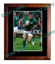 TOMMY BOWE IRELAND 2011 RUGBY WORLD CUP A3 PHOTO 1