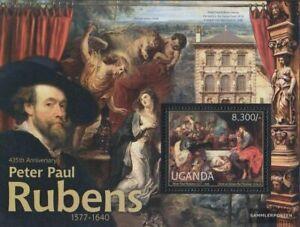uganda Block383 MNH 2012 Peter Paul Rubens