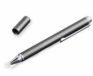Disc-type Touch Screen Precision Stylus Pen - Black