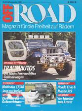 Off Road 9/88 1988 Honda Civic Shuttle RT 4WD Mahindra CJ 430 Mazda 323 Auto