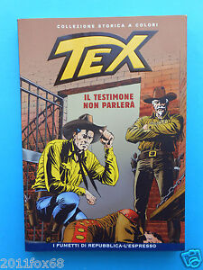 tex 69 collezione storica a colori il testimone non parlerà fumetti repubblica