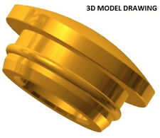 Brass Hole Plugs  for Wood  (10 Pieces)
