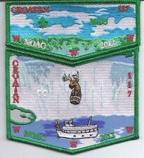 OA (BSA) Croatan Lodge #117 - 2012 NOAC Patch Set