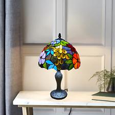 Estilo Tiffany impresionante calidad mano hecha a mano de vidrio de Mesa/Escritorio/Lámparas de mesilla de noche UK