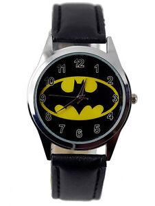 New Batman Wrist Watch Boys Girls Children Super Hero Gift Stocking Party Bag