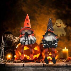Halloween Faceless Gnome Gonks Doll Plush Ornaments Swedish Tomte Elf Decor Gift