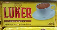 3x Chocolate Luker tradicional 500g ae - 0% Cholesterol  Imported From Colombia