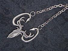 Game of Thrones Greyjoy necklace - house greyjoy pf pyke viking kraken octopus