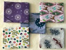 Harry Potter fabric fat quarter bundle of 5, Honeydukes & Spells, 100% cotton