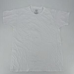Fruit of the Loom Boys White CrewNeck T-Shirts 5pk Sz L (14-16) NWOT Undershirt