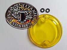 Triumph 650-750 Twins - Acrylic Points Cover - Transparent Yellow