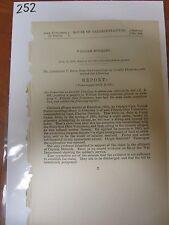 Gov Report Civil War William Buckley Co C 50th Ohio Volunteers pension #252