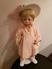 Danbury Mint Amanda porcelain Doll