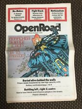 Open Road Issue 7 1978 - Vintage Anarchist Newspaper Feminism Civil Rights Nukes