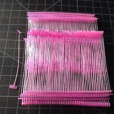 "1000pcs 3"" pink Standard Tag Pins Regular Tag Barbs Tagging Gun Fasteners"