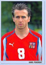 BF38423 karel poborsky joueur de football football player czech republic