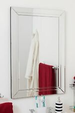 Wall Mounted Bathromm Bevelled Glass Mirror 2Ft X 3Ft 60cm X 90cm