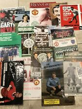 More details for 18 different testimonials feat george best, hunt, giggs, charlton, etc