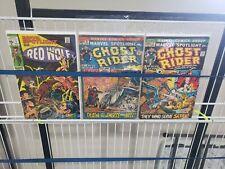 Marvel Spotlight Marvel Comic Book lot 1 6 7 2nd Ghost Rider Bronze Age