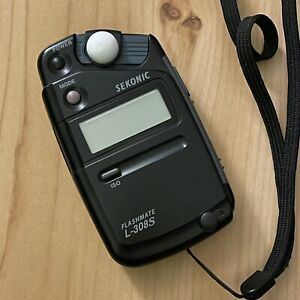 Sekonic L-308s Flashmate Incident & Reflected Light Exposure Meter w/ Case