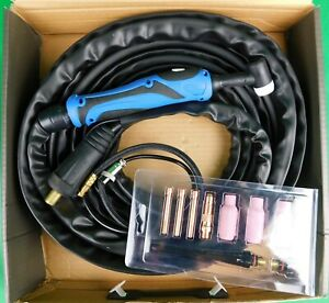 WP-17F x 8mtr 3550 TIG Torch Air Cooled WP-17F 8mtr 3550 BLUE Bobthewelder Sales