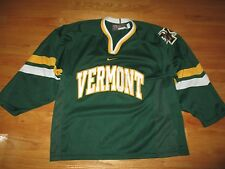 Nike Bauer UNIVERSITY OF VERMONT CATAMOUNTS (MED) Hockey Jersey