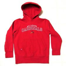Antigua St. Louis Cardinals Red Hoodie Hooded Sweatshirt Top Boys Medium 10/12