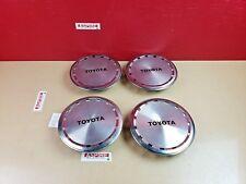 1986-1988 Toyota Corolla Wheel Hub Center Cap Exterior Set OEM