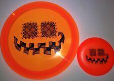New Innova Champion Firebird Halloween Pumpkin Stamp 175g + Mini Disc Golf