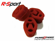 Pumaspeed Uprated Silicone Exhaust Mount Set - Red