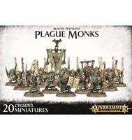 Warhammer Age of Sigmar:  Skaven Pestilens Plague Monks