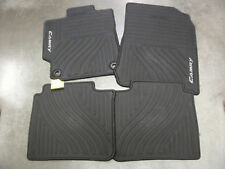 NEW OEM ALL WEATHER FLOORMATS (4 PIECE) 2012 2013 2014 TOYOTA CAMRY BLACK