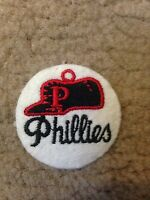 "1970 VINTAGE PHILADELPHIA PHILLIES IRON ON PATCH  2"" CIRCLES OLD STORE STOCK"