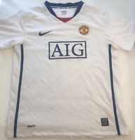 Nike Manchester United  Soccer Jersey Dri-Fit Authentic Youth XL