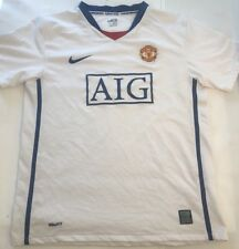 Nike Manchester United Soccer Jersey Dri-Fit Authentic Mens SZ Small - Youth XL