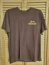 """New listing Kahlua Midnight """"Perfect Time For Wake Up Call"""" Large L Brown T-Shirt - Coffee"""