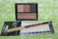 NYX  Eye Shadow Palette LIP05 SUNSETS WITH SOPHIA REFILL + L'OREAL EYE LINER